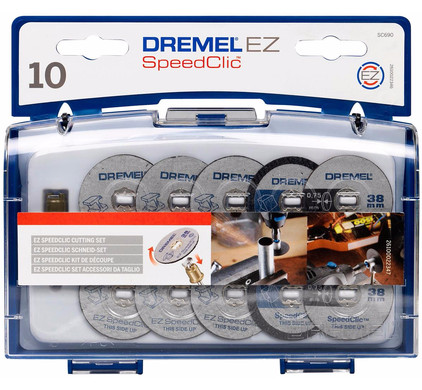 Dremel EZ SpeedClic snij-accessoireset (SC690)
