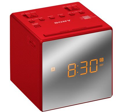 Sony ICF-C1T Rood