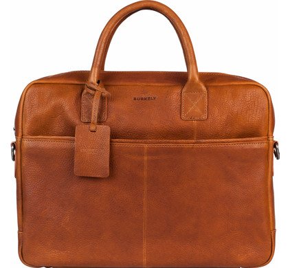 Burkely Antique Avery Laptoptas 15'' Cognac