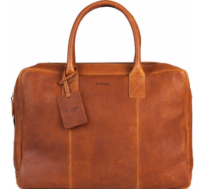 """Burkely Antique Avery Worker 15,6"""" Cognac"""