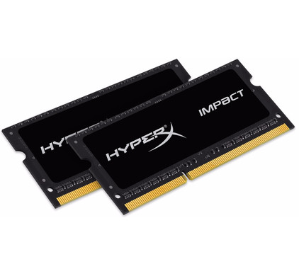 Kingston HyperX Impact 16 GB SODIMM DDR3L-1866 2 x 8 GB