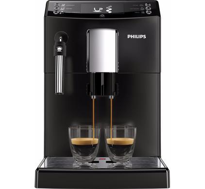 Koffiezetapparaat met koffiebonen