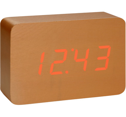 Gingko Brick Click Clock Koper