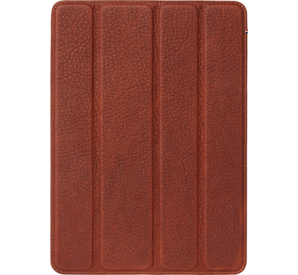 Decoded iPad 9,7 inch Leather Slim Cover Bruin