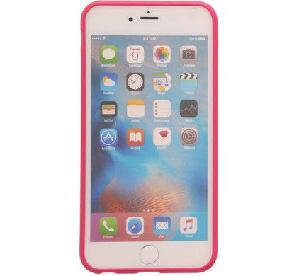 Muvit Frame Apple iPhone 6 Plus/6s Plus Back Cover Roze