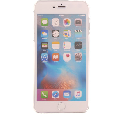 Muvit Crystal Apple iPhone 6 Plus/6s Plus Back Cover Transparant