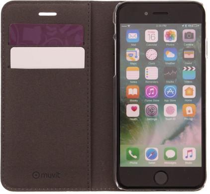 Muvit Folio Stand Apple iPhone 7 Book Case Wit