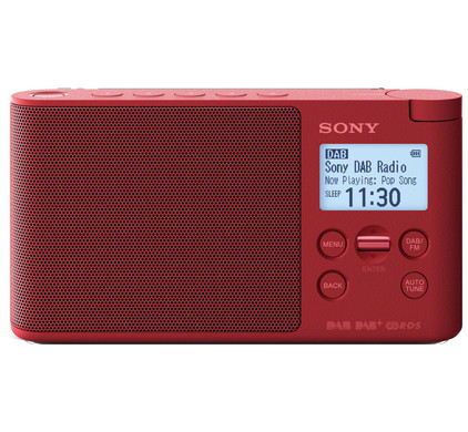 Sony XDR-S41D Rood
