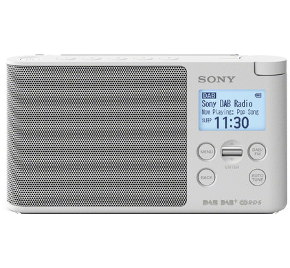 Sony XDR-S41D Wit