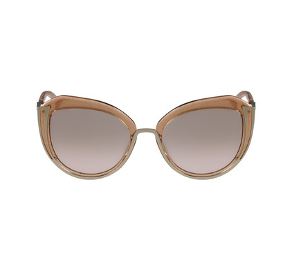 Karl Lagerfeld KL928S Shiny Gold / Grey Brown