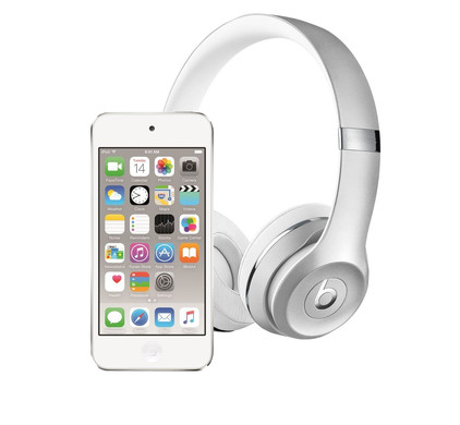 Apple iPod Touch 6 16GB Zilver + Beats Solo3 Wireless Zilver