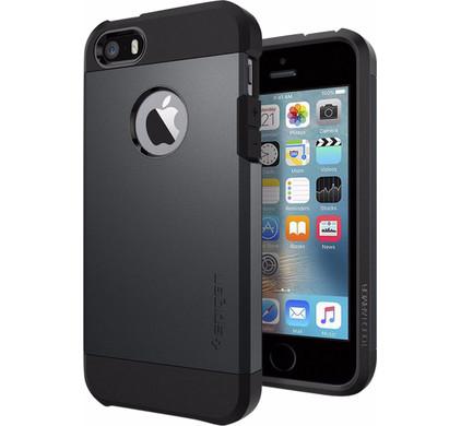 Spigen Tough Armor Apple iPhone 5/5S/SE Blauw