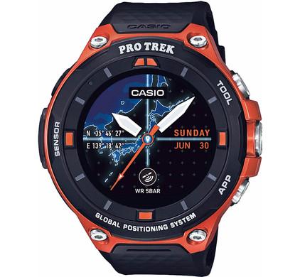 Casio Pro Trek Smart Outdoor Oranje