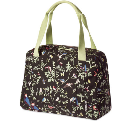Basil Wanderlust Carry All 18L Charcoal Zwart