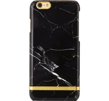 Richmond & Finch Marble Glossy Apple iPhone 6/6s Zwart