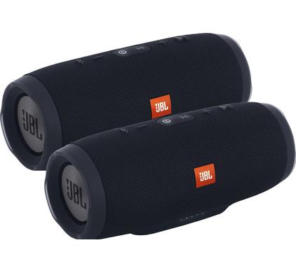 JBL Charge 3 Zwart Duo Pakket