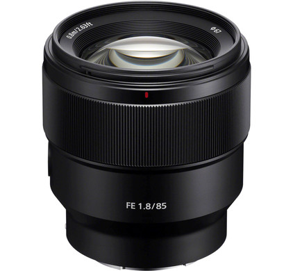 Sony FE 85mm f/1.8 Front