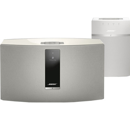 Bose SoundTouch 30 III Wit + Bose SoundTouch 10 Wit