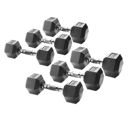 Crossfit Uitbreiding Liften Met Dumbbells 5, 10, 15 kg