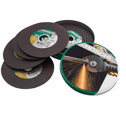 Hitachi Slijpschijf Metaal 125 mm 10 stuks