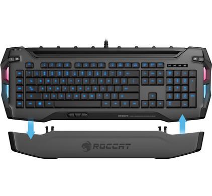 Roccat Skeltr Gaming Toetsenbord Grijs QWERTY
