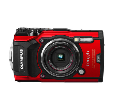 Olympus Tough TG-5 Rood Main Image