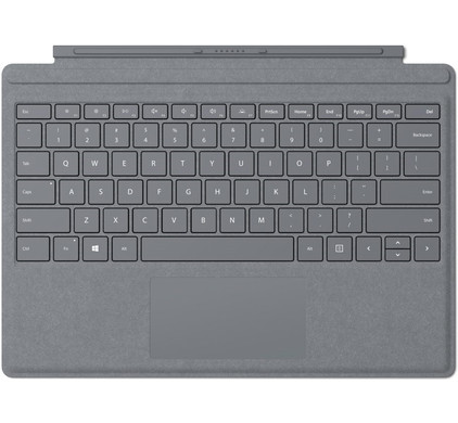 Microsoft Surface Pro Type Cover QWERTY Zilver