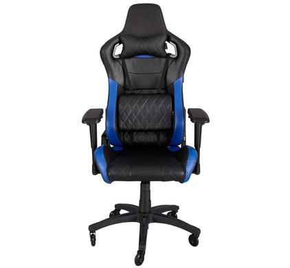 Corsair T1 Race Gaming Chair Zwart/ Blauw