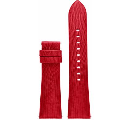 Michael Kors 22mm Leren Horlogeband Rood
