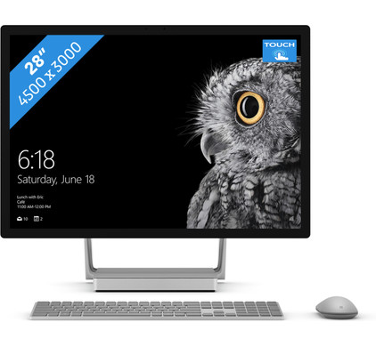 Microsoft Surface Studio i7 - 16GB - 128GB + 1TB - GTX965M