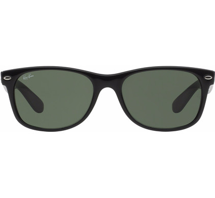 e743b2624c7f3a Ray-Ban New Wayfarer RB2132 55 Black   Crystal Green - Coolblue - Voor  23.59u