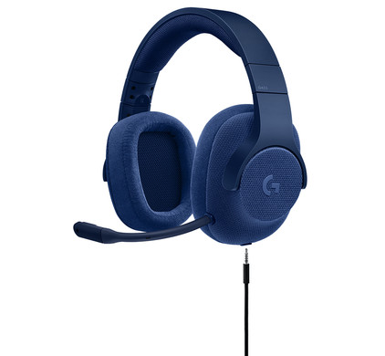 Afbeelding van Logitech G433 7.1 Surround Sound Gaming Headset Blauw