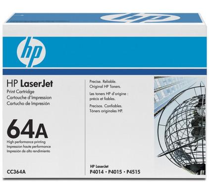 HP 64A LaserJet Toner Black (zwart) (CC364A)