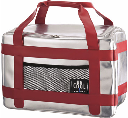 BE Cool T-740 City Silver/Red L