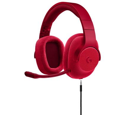 Logitech G433 7.1 Surround Sound Gaming Headset Rood