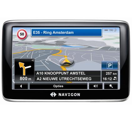 Navigon 4350 MAX Europe + Tas + Thuislader
