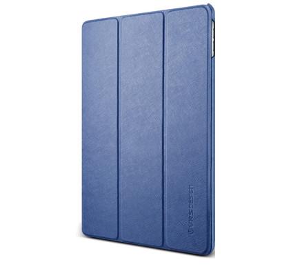 VRS Design Saffiano K1 Apple iPad Hoes Blauw