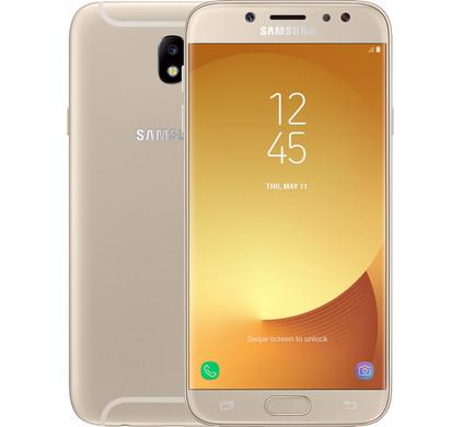 Samsung Galaxy J7 (2017) Dual Sim Goud - Coolblue - Voor 23.59u, morgen in huis