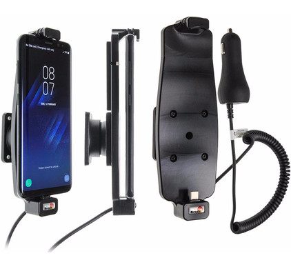 Brodit Mount Samsung Galaxy S8 with charger Main Image