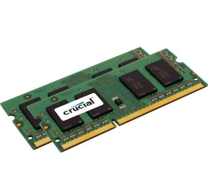 Crucial Standard 8GB DDR3L SODIMM 1600 MHz (2x4GB)