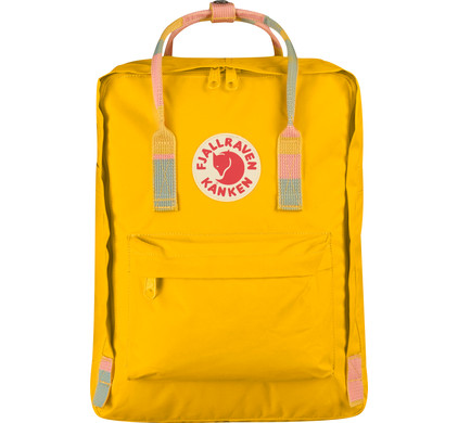 Fjällräven Kånken Warm Yellow-Random Blocked