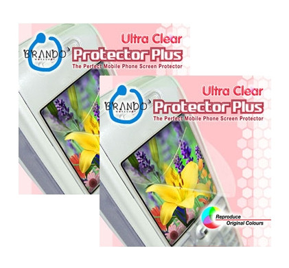 Brando Screenprotector Ultra Clear HTC Tattoo Duo Pack