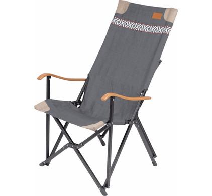 Bo-Camp Urban Outdoor Vouwstoel Camden Grijs