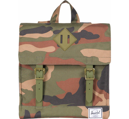 Herschel Survey Kids Woodland Camo/Army Rubber