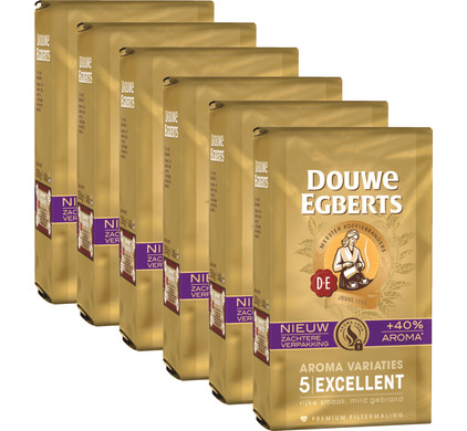 Douwe Egberts Aroma Variaties Excellent 6-pack