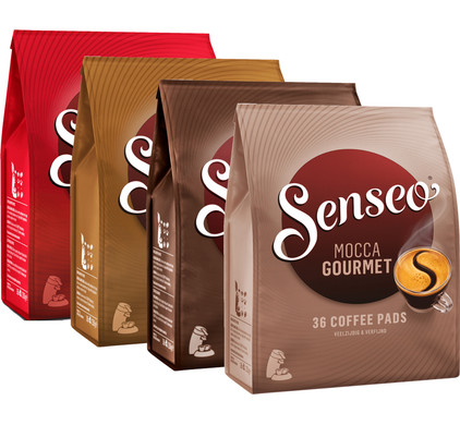 Senseo 4-pack Classic + Strong + Extra Strong + Mocca Gourmet