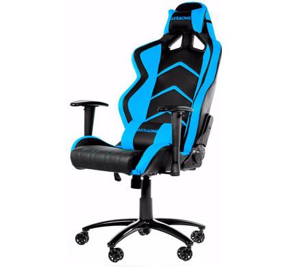 AK Racing Player Gaming Chair Zwart / Blauw