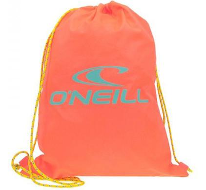 O'Neill BM Gym Sack Fluroro Peach
