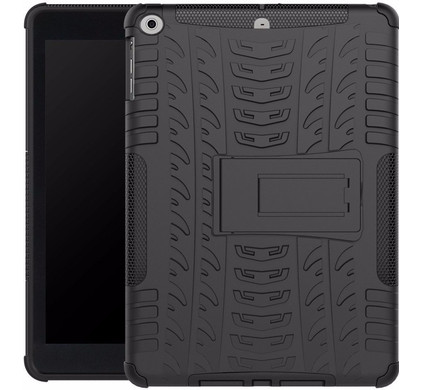 Just in Case Apple iPad 9,7 inch Rugged Hoes Zwart