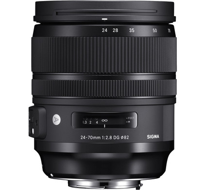 Sigma 24-70mm f/2.8 DG OS HSM Art Canon Front